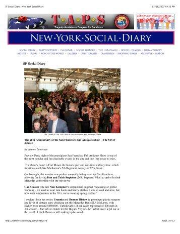 SF Social Diary | New York Social Diary - Urban Chateau
