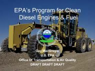 engines - Faster Freight - Cleaner Air