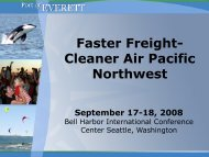 Faster Freight- Cleaner Air Pacific Northwest