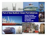 Port of New Bedford - Faster Freight - Cleaner Air