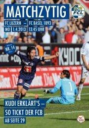 Ausgabe 14 - FC Luzern