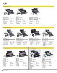 4Bank/ Gaffer Kits 4Bank/ Interview Kits Vista Single Kits ... - Kino Flo