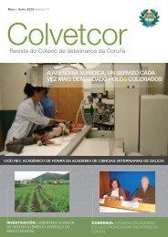 Revista do Colexio de Veterinarios da Coruña A ... - Transmedia 2009