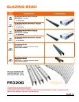 GLAZING BEAD & SCREWS SECTION - Page 3