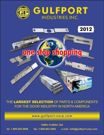 hollow metal parts catalog - Gulfport Industries Inc.