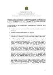 Resultado dos recursos – Gestão Pública Municipal - cead - UFF