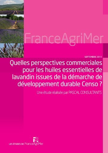 PASCAL_CENSO_Rapportpour diffusion large - FranceAgriMer