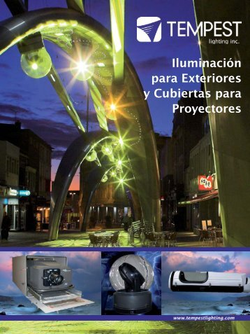 Cubiertas para Proyectores - Tempest Lighting, Inc.