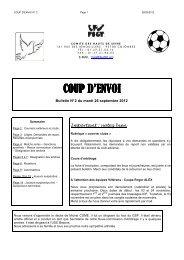 CPE N° 2 - 2012-2013 - FSGT 92