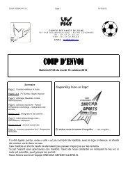 CPE N° 05 - 2012-2013 - FSGT 92