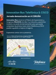 Innovation Bus Telefónica & CISCO