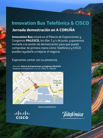 Innovation Bus Telefónica & CISCO