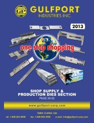 Shop Supply - Gulfport Industries Inc.