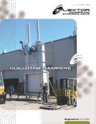 Guillotine Dampers - Effox-Flextor