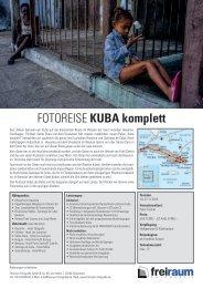 Die komplette Reise als PDF - Freiraum Fotografie