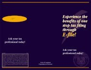 E-file! E-file! - Louisiana Department of Revenue