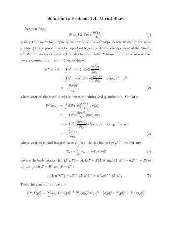 solution to problem 4 5 mandl shaw rh yumpu com Mandl School of College Meltzer Mandl Architects
