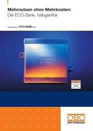PDF Datei: Broschüre / OBO / Prospekt VBS Eco Serie