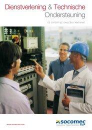 Dienstverlening & Technische Ondersteuning - Socomec