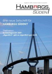 Eine neue Zeitschrift für HAMBURGS SÜDEN!? - hh-sueden .de