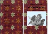 Adventsmusik - Brandenburg 60 Plus