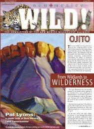 WILDERNESS - New Mexico Wilderness Alliance