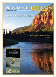 Special Mobile GIS Issue - New Mexico Wilderness Alliance