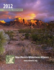here - New Mexico Wilderness Alliance