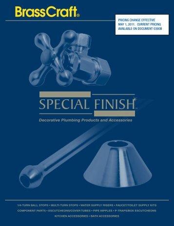 Catalog Price List April1, 2010 - Brass Craft