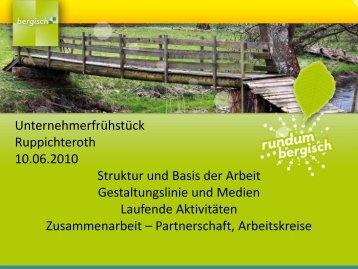 Präsentation Touristikverein - Mario Loskill