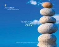 Tätigkeitsbericht - Accuracy
