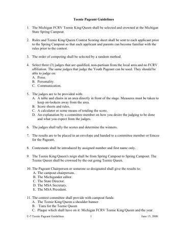 SAMPLE LETTER for REQUESTING JUDGES - Mifcrv.org
