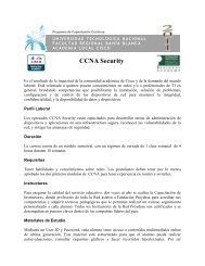 CCNA Security - Facultad Regional Bahía Blanca - Universidad ...
