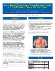 Introduction Use of Systolic Time Ratio and B-type Natriuretic ...