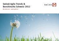 Swissq agile trends 2012