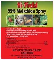 Label 32029 55 Malathion Approved 6-26-12 - Fertilome