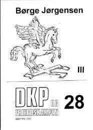 DKP og Frihedskampen Bind 28