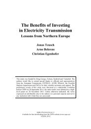 The Benefits of Investing in Electricity Transmission - ICBSS