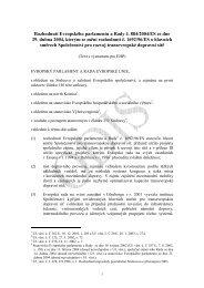 Rozhodnutí Evropského parlamentu a Rady č. 884/2004/ES ... - edice