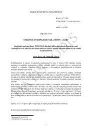 Doplněný návrh směrnice vztahujících se k nádržím na ... - edice