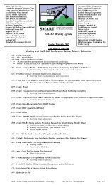 May 06 2012 Agenda - Surface Mining Association for Research ...