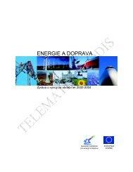 Energie a doprava - zprva 2000-2004 - edice