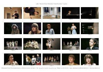 """10983 / Theater Ticino, Wädenswil: """"Carte ... - Fuchs, Bernhard"""