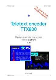Teletext encoder eletext encoder eletext encoder eletext encoder ...