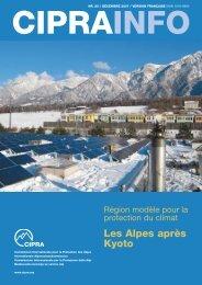 Les Alpes après Kyoto - Alps Know-How - Cipra
