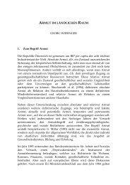 ARMUT IM LÄNDLICHEN RAUM - Österreichische Gesellschaft für ...