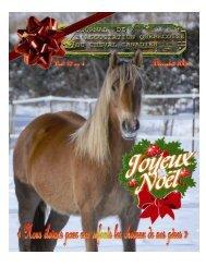 Volume 10-4 Décembre 2008 - Association québécoise du cheval ...