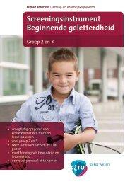 Screeningsinstrument Beginnende geletterdheid - Masterplan ...