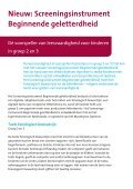 Screeningsinstrument Beginnende geletterdheid - Masterplan ... - Page 2