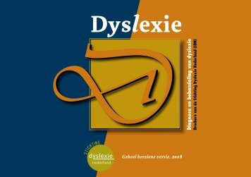 Brochure - Stichting Dyslexie Nederland